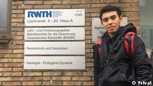 La Ode Marzujriban Student an der RWTH Aachen