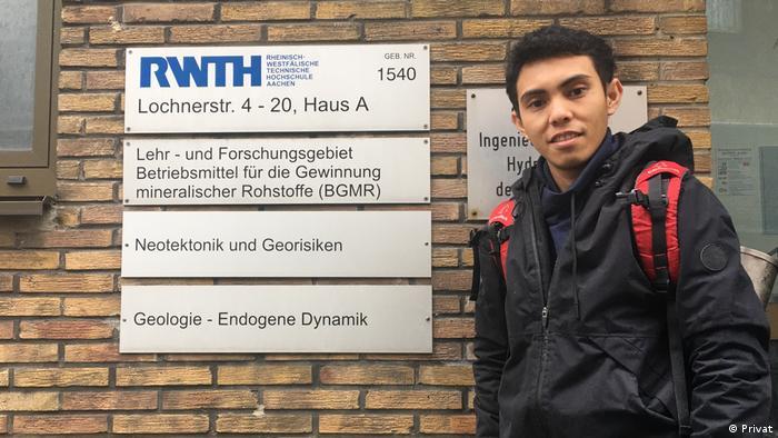 La Ode Marzujriban Student an der RWTH Aachen (Privat)