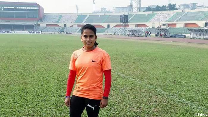 Bangladesch erste weibliche Trainerin der Herrenmannschaft