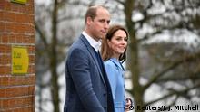 UK Prinz William und Herzogin Kate in Ballymena, Nordirland