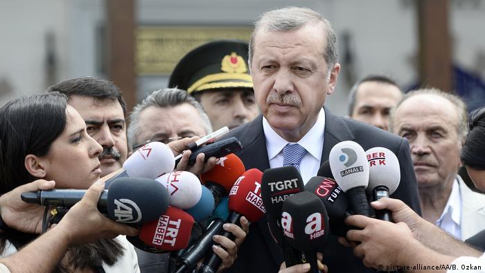 Türkei Präsident Recep Tayyip Erdogan in Istanbul