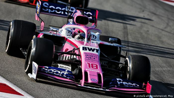 Force India car (picture-alliance/empics/J. Moy)