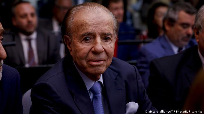 Argentinien Prozess um Anschlag auf Jüdisches Zentrum in Buenos Aires Carlos Menem