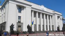 Ukraine Kiew Parlament Gesetzesentwurf zur Amtssprache