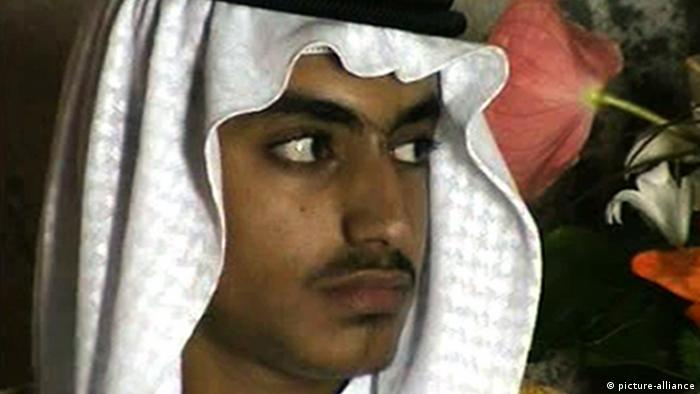 Hamza bin Laden Sohn von Osama Bin Laden (picture-alliance)