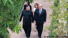 USA-Nordkorea Gipfel - Donald Trump, Kim Jong Un