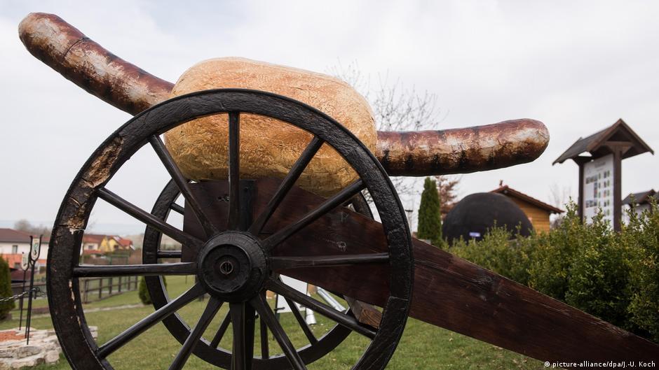 Deutschland Bratwurstmuseum in Holzhausen