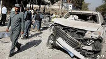 انفجار بمب در کابل در اکتبر سال ۲۰۰۹