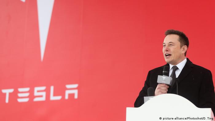Szef Tesli Elon Musk