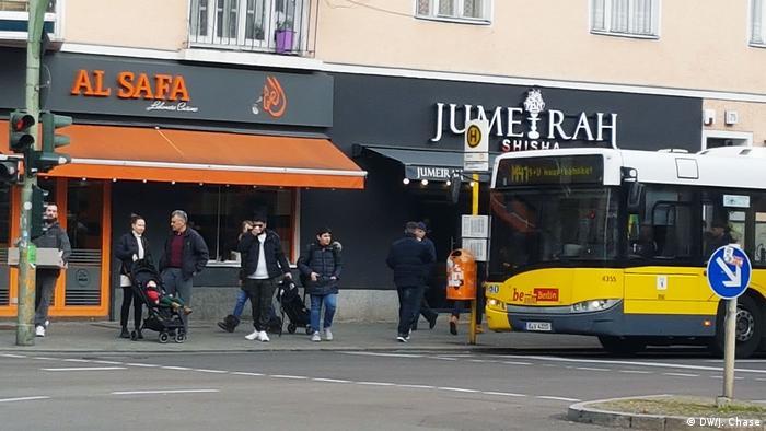 Deutschland Straßenszenen an der Sonnenallee in Berlin