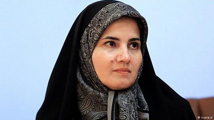 Iran Laya Joneydi, Vizepräsidentin für Rechtsfragen (icana.ir)