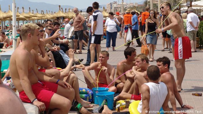 Njemački turisti na Mallorci