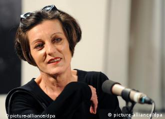 German writer Herta Mueller