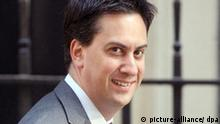Ed Miliband Umweltminister Großbritannien