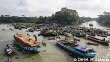 Bangladesch Schwimmender Markt in Boithakata