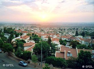 City of Rosh Haayin in Israel