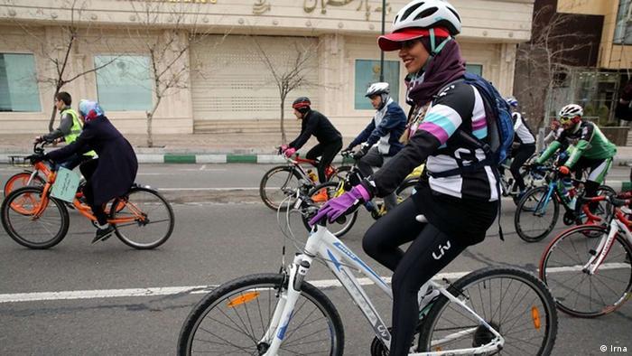 Iran Fahrradtour in Teheran