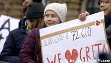 Hamburg Greta Thunberg Demonstration Klimaschutz Klima