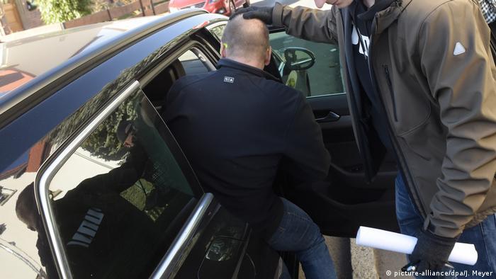 Задержание спортивного врача из Эрфурта Марк Ш. в 2019 году