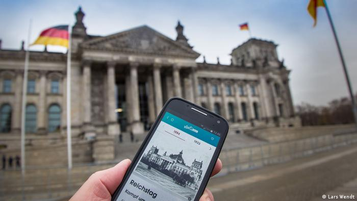App check: On the path of freedom through Berlin | DW Travel