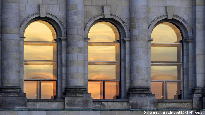 Reichstag, window, front (picture-alliance/imageBROKER/M. Weber)