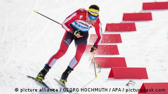 Austrian cross-country skier Dominat Seefeld last year