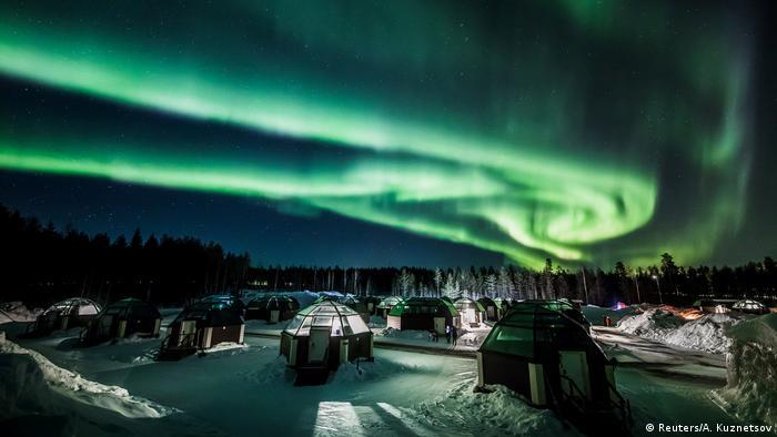 BdTD - Nordlicht in Finnland (Reuters/A. Kuznetsov)