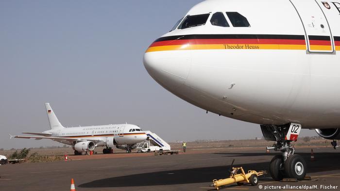Mali Ersatzmaschine für Heiko Maas trifft in Bamako ein
