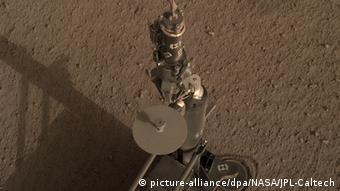 Немецкий зонд HP3 миссии InSight на Марсе