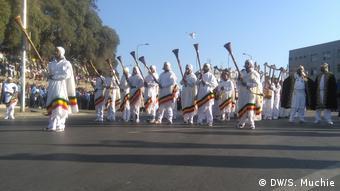 Äthiopien Adwa Feier in Addis Abeba
