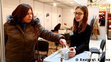 Estland Parlamentswahlen 2019 in Tallin