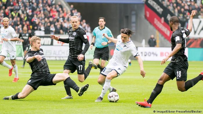 Bundesliga: Eintracht Frankfurt TSG 1899 Hoffenheim (Imago/Eibner Pressefoto/Becker)