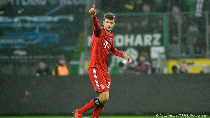 Bundesliga - Borussia Moenchengladbach gegen Bayern München Tor zum 0:2 (Getty Images/AFP/S. Schuermann)