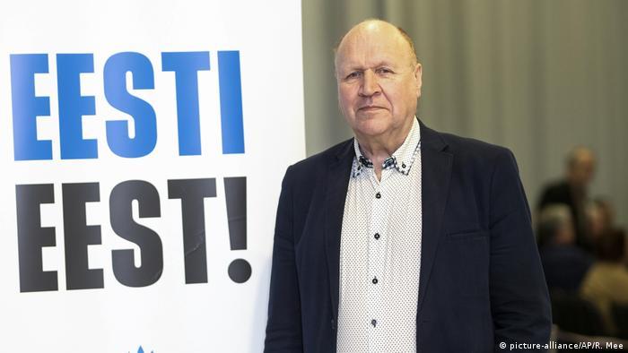 Mart Helme von der EKRE Partei