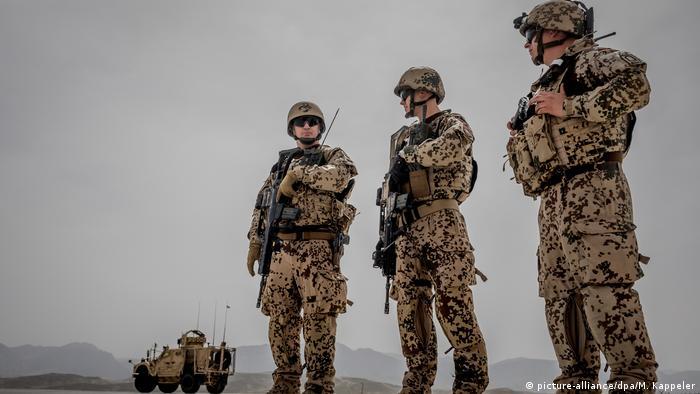 Afghanistan Bundeswehrsoldaten in Masar-I-Scharif