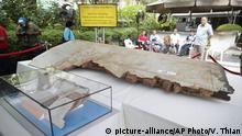 Malaysia Kuala Lumpur Erinnerung an vermisstes Flugzeug MH370
