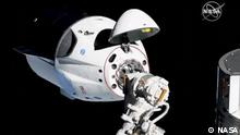 SpaceX Dragon angedockt an der ISS