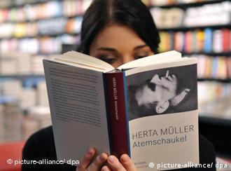 Internautas pueden conseguir gratis la última nóvela de Herta Müller.