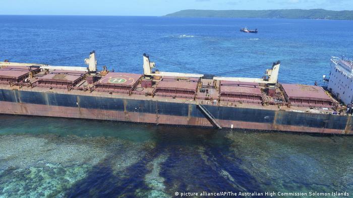 MV Solomon Trader (picture alliance/AP/The Australian High Commission Solomon Islands )