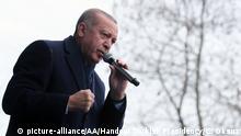 Türkei Präsident Erdogan Wahlkampfveranstaltung in Ordu