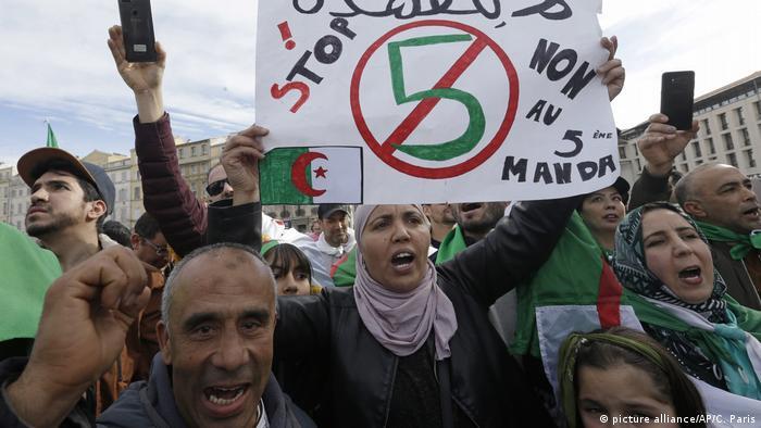 Frankreich Protest gegen Algeriens Präsident Abdelaziz Bouteflika