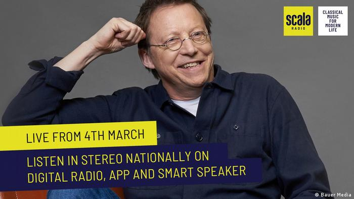 Scala Radio DJ Simon Mayo (Bauer Media)