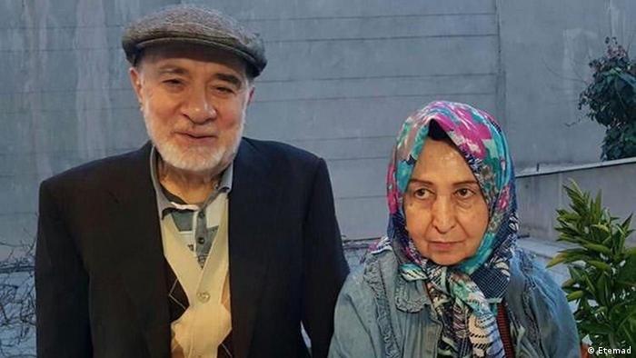 Mir Hossein Moussavi Zahra Rahnavard Iran (Etemad)
