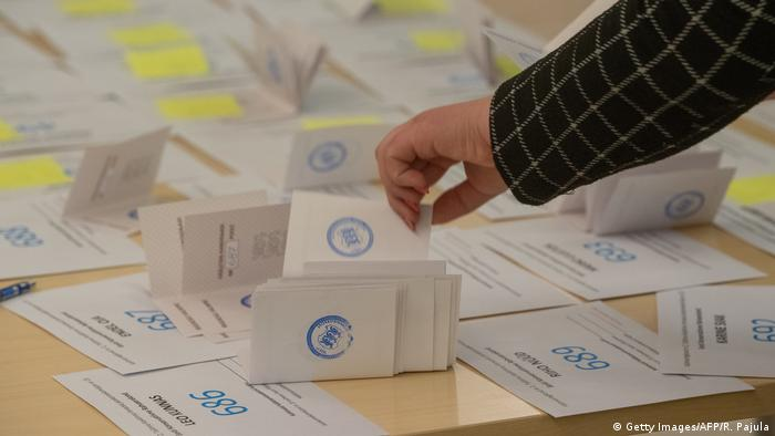 Estonia election ballots (Getty Images/AFP/R. Pajula)
