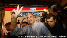 march, 03, 2019 Rome ( Italy ).News: election of the secretary of the democratic party.in the pic: the new leader zingaretti |