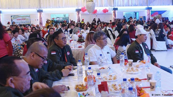 Niederlande - Indonesien Wahlkampf Jokowi 2019 (DW/H. Pasuhuk)