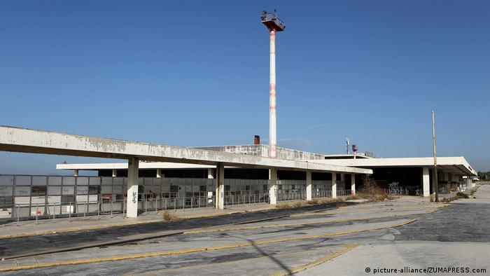 Der frühere Flughafen Hellinikon in Griechenland