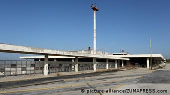 Oι εγκαταστάσεις του πρώην αεροδρομίου στο Ελληνικό