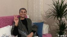 HDP Abgeordnete Leyla Güven die im Hungerstreik ist