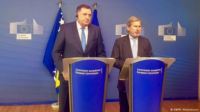 Milorad Dodik u Briselu
